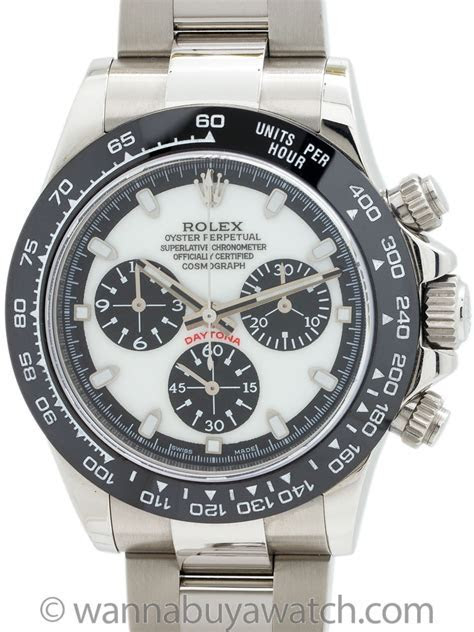 Rolex Daytona ref 116520 Custom Dial & Ceramic Bezel with Card