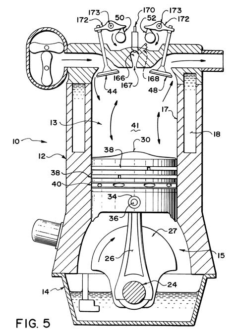 Patent US6286467 - Two stroke engine conversion - Google