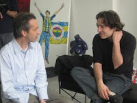 Ned and Fazil Say at the Think! Exhibition