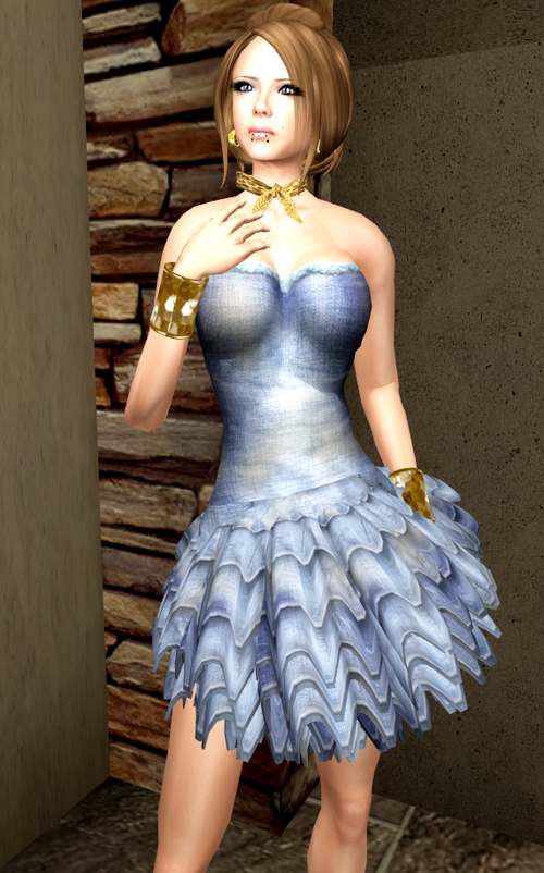 Shiki Designs Denim Dress - RagDoll