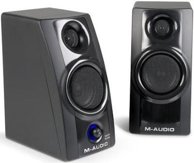 M-Audio Studiophile AV20 speakers - Review