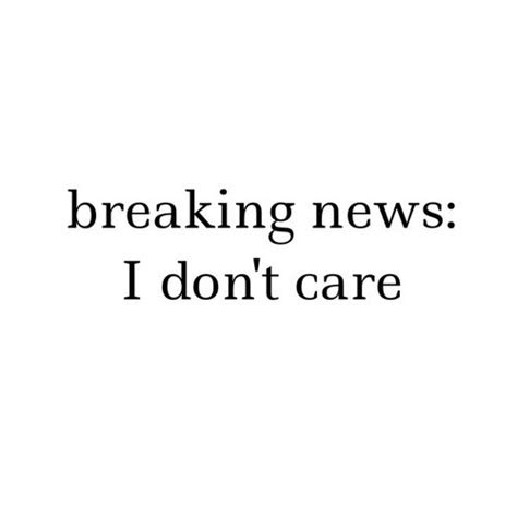 Funny I Dont Care Quotes