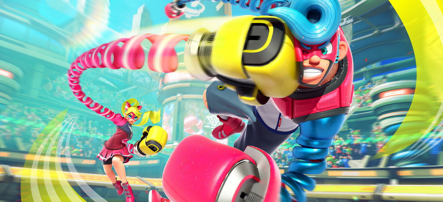 ARMS 2.1 update is live, Master Mummy's gotta go fast screenshot