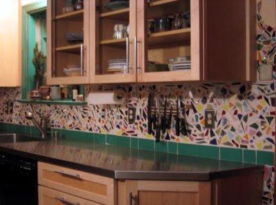 Slate Backsplash Tiles For Kitchen