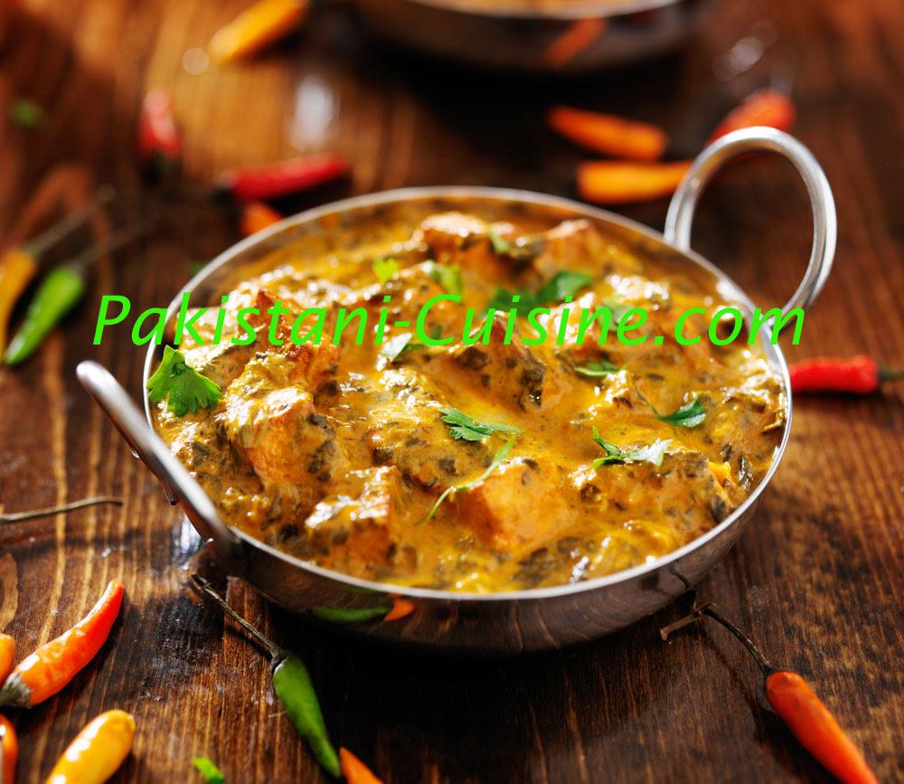 Saag Paneer - Pakistani Cuisine