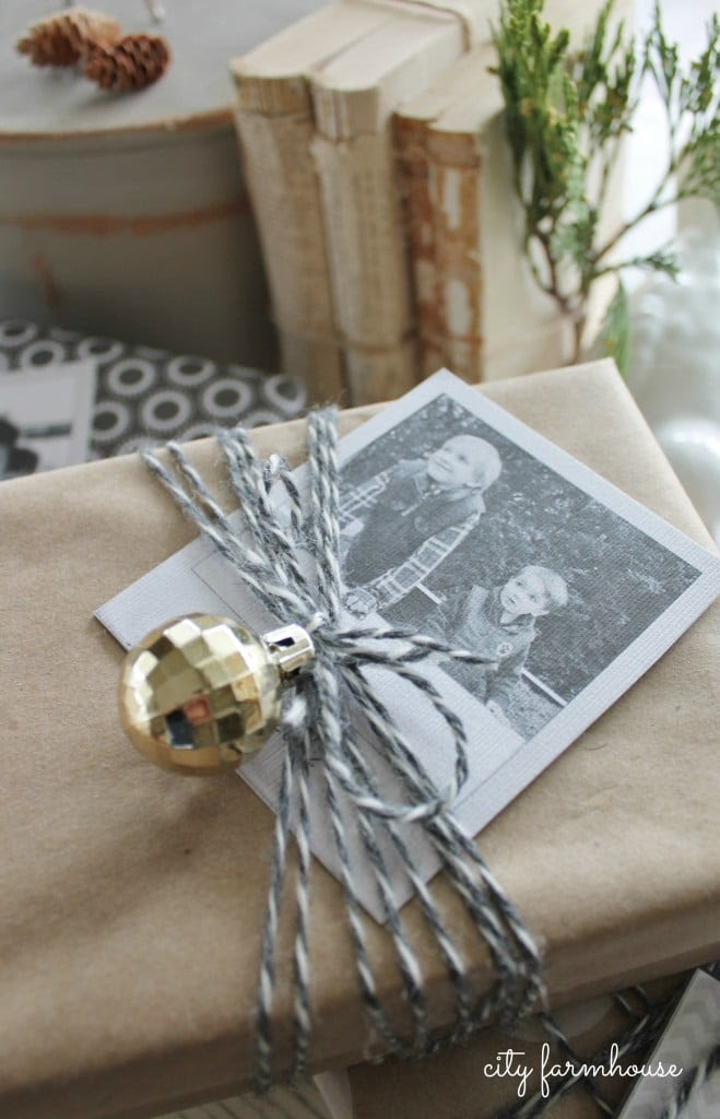 Twine, Ornament & Photo from City Farmhouse