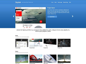Skylark Free WordPress Theme