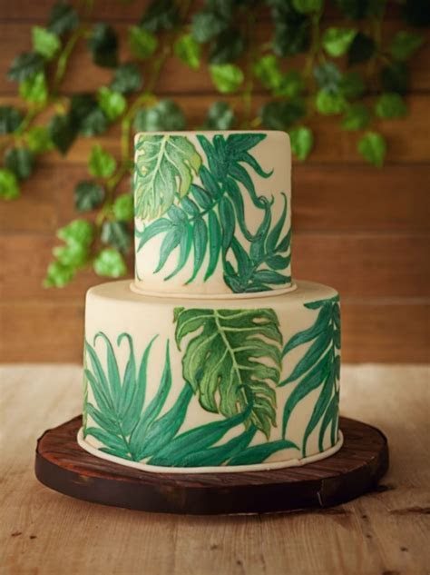 25 Best Ideas of Tropical Wedding Cake That Look So Fresh