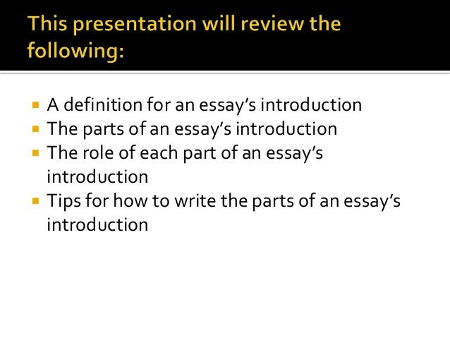 writing an essay introduction z pdf