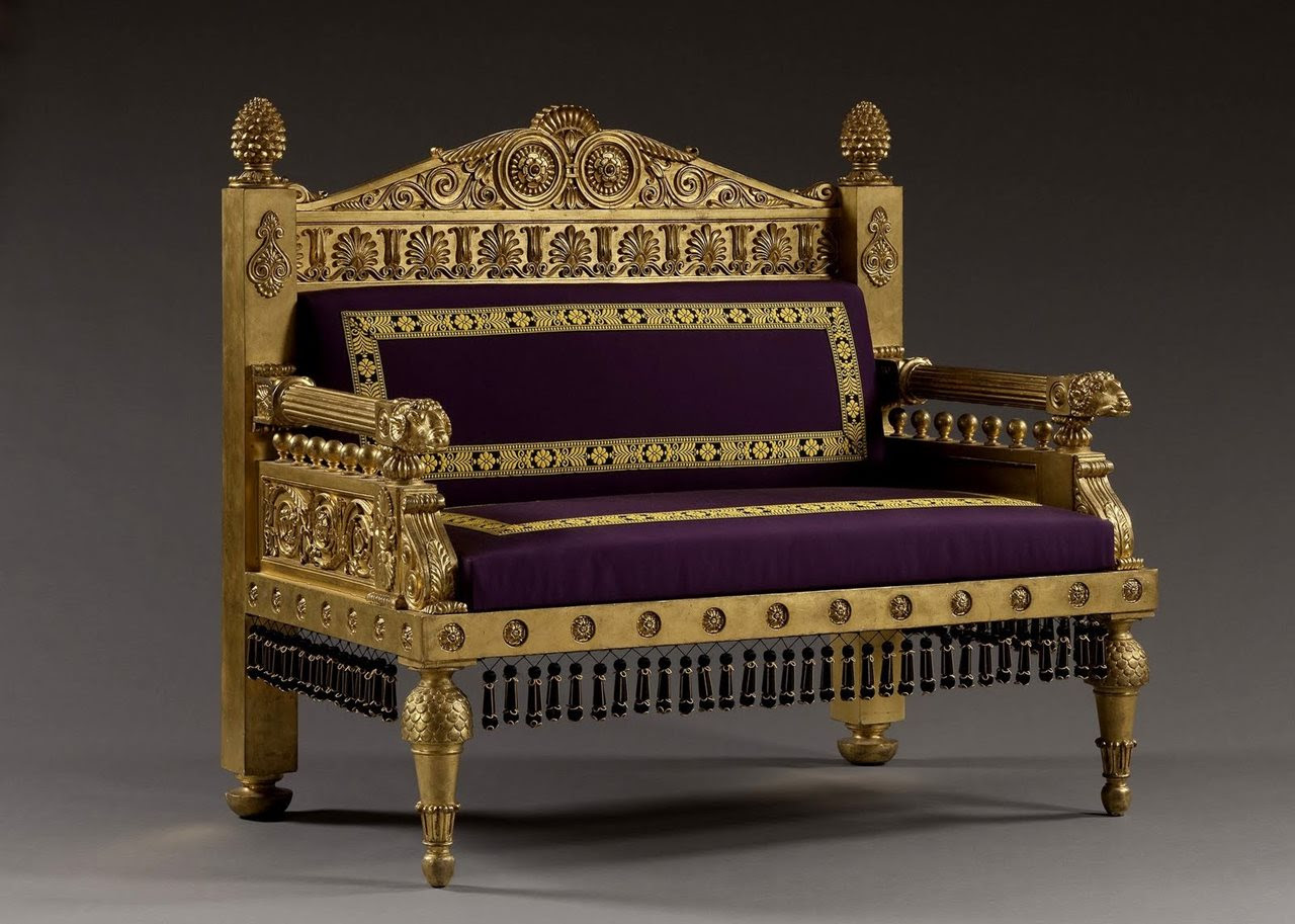 Egyptian Style Furniture imperial sofa