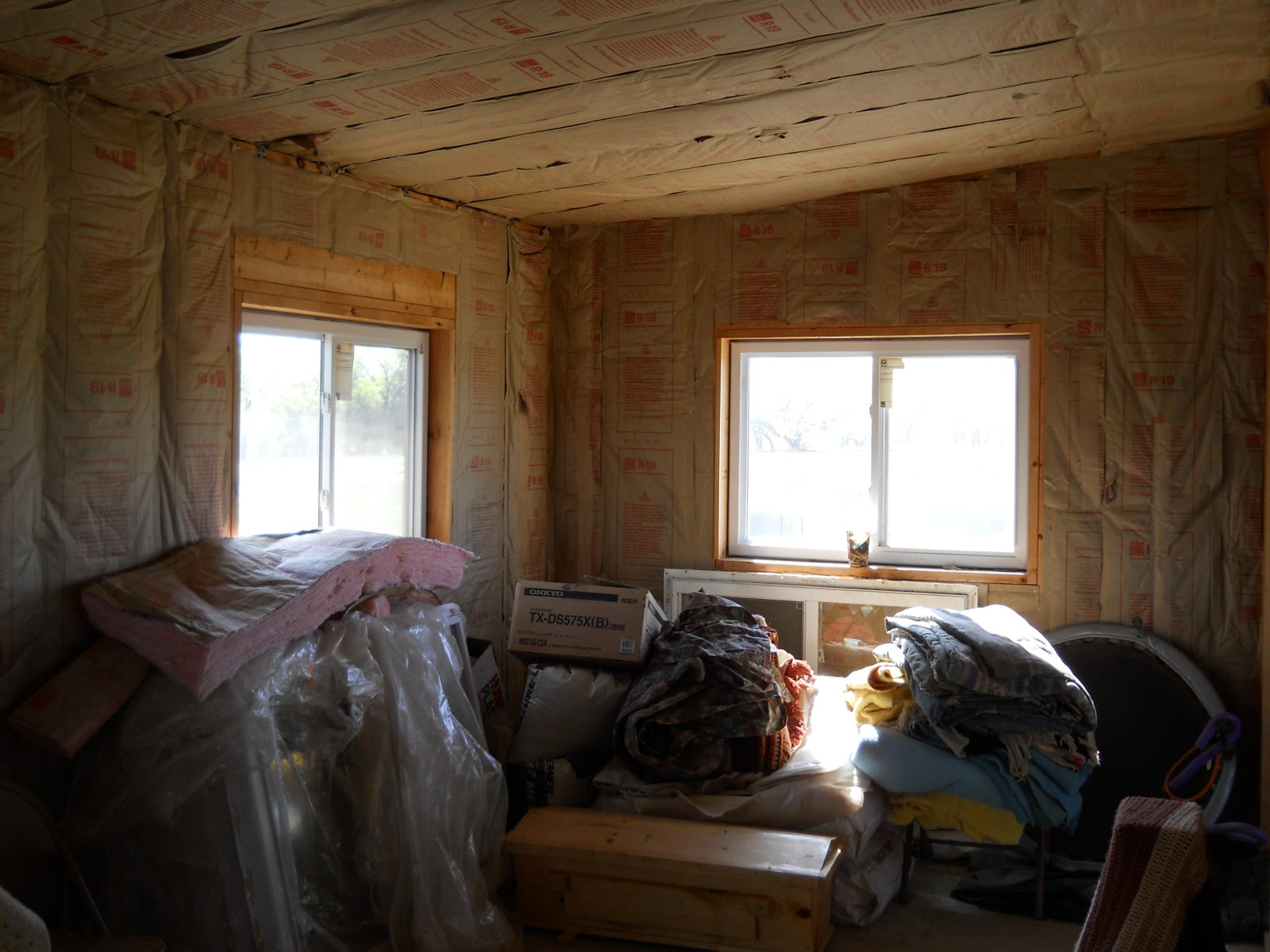 Summer Kitchen - Update II - Insulation & Final Cross Wall | The ...