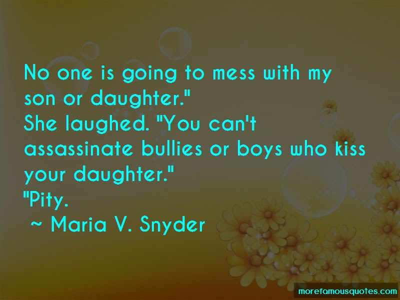 Mess With My Daughter Quotes Top 2 Quotes About Mess With My