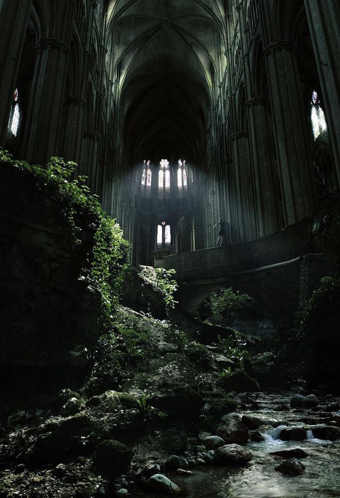 Жутко красивые заброшенные места