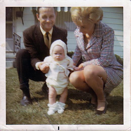 Larry, JoCilla, and Tim Whims, Rittman, Ohio, 1970