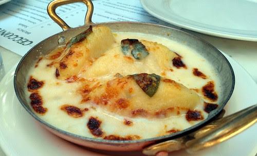 Gnocchi w Romano, Gorgonzola