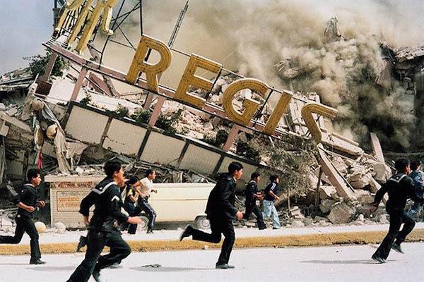 Resultado de imagen de tiembla nuevamente en mexico