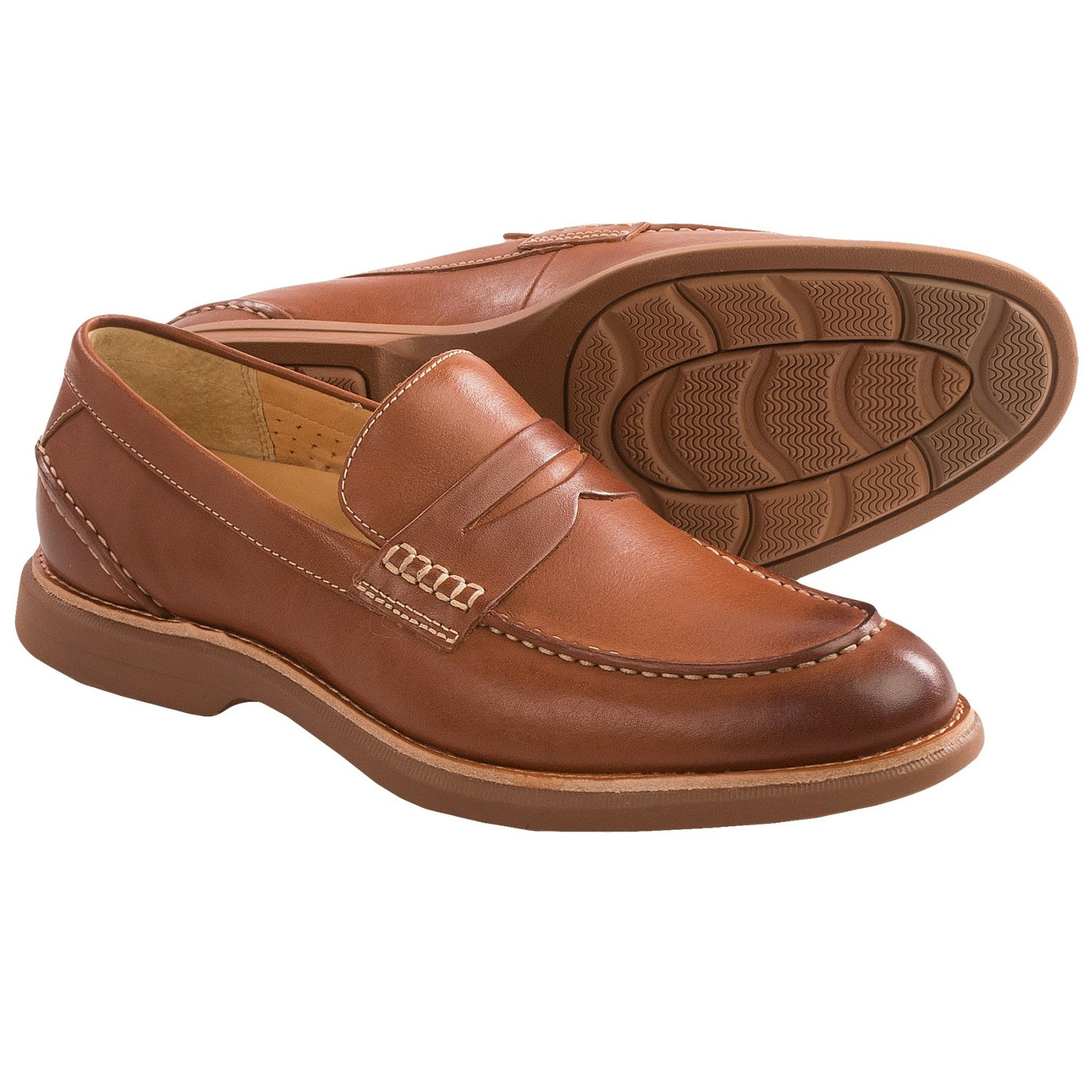 Sperry Gold Cup Bellingham Penny Loafers (For Men) in Tan