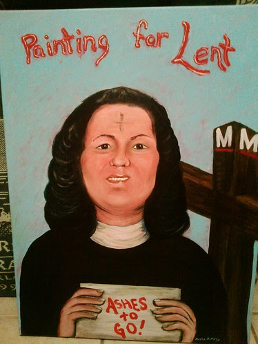 Painting for Lent