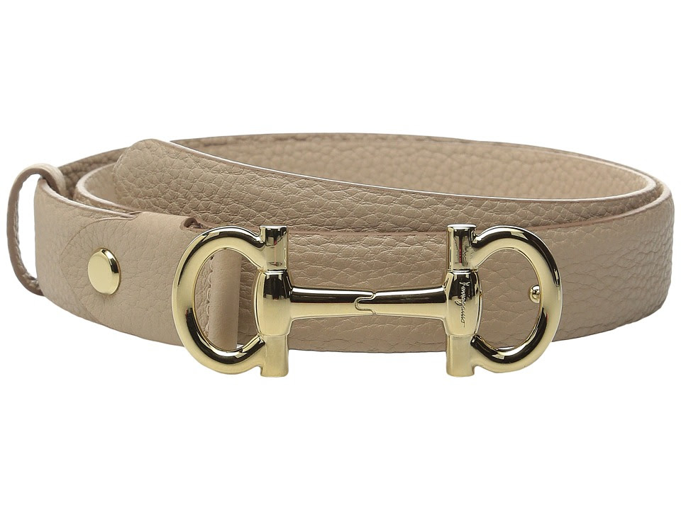 Salvatore Ferragamo - 23B336 (New Bisque) Women's Belts