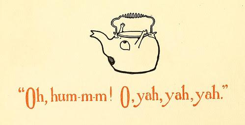 Oh, hum-m-m! O, yah, yah, yah/