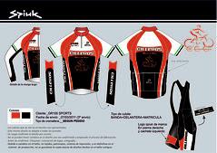 Equipación Club Ciclismo Cilleros 2011
