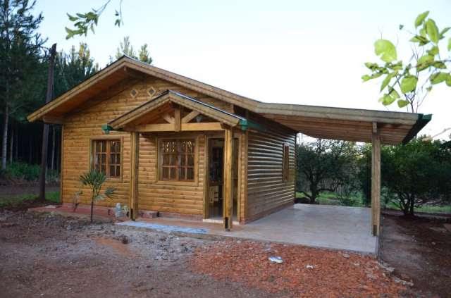Casas de madera prefabricadas casa cabanas for Casas prefabricadas ocasion