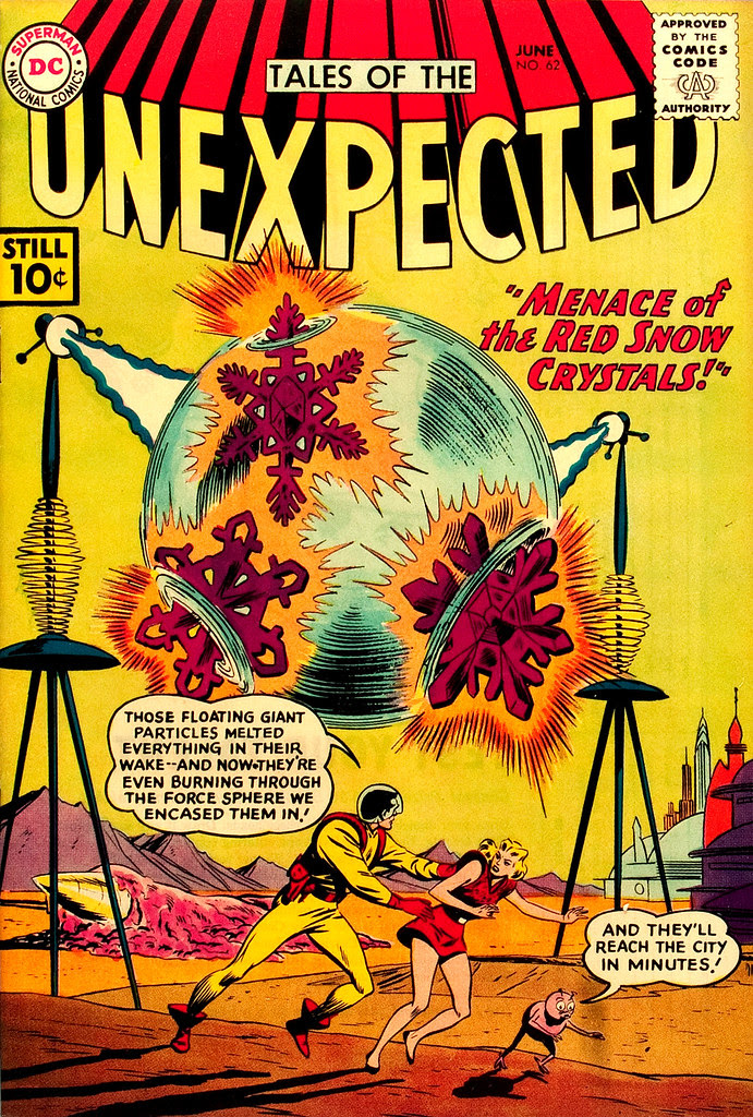 Tales of the Unexpected #62 (DC, 1961) Bob Brown cover