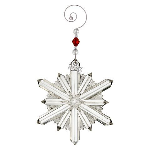Waterford Crystal Snowstar Ornament 2017   Silver Superstore