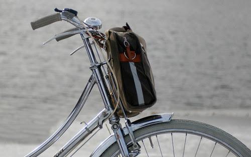 Po Campo Loop Pannier as Handlebar Bag
