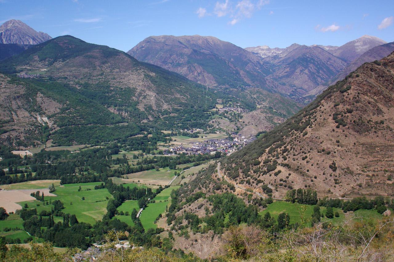 Panorama des de Burgo