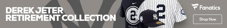 Shop the Derek Jeter Retirement Collection at Fanatics.com