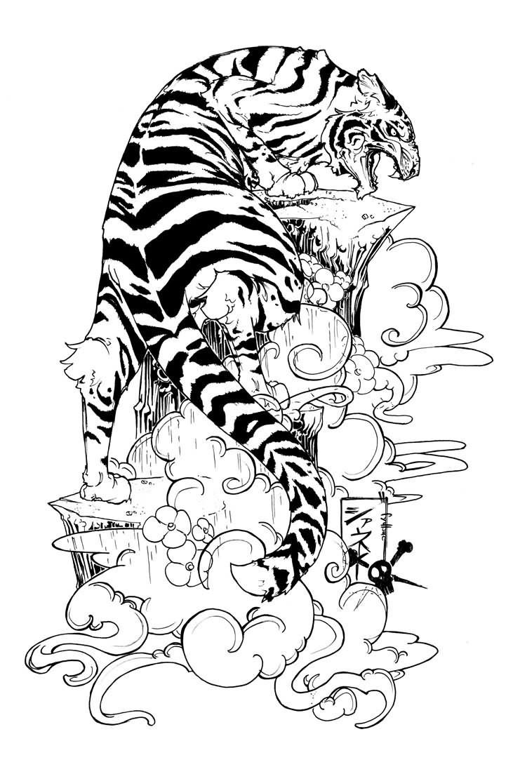 Tatos Me Tiger Lily Flower Tattoo Designs