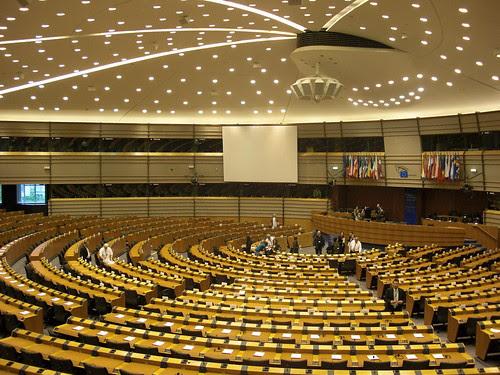 Bruxelles, le parlement européen