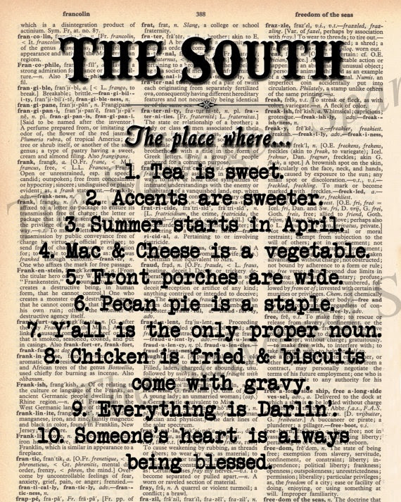 Fresh Quotes About Living In The South - Mesgulsinyali