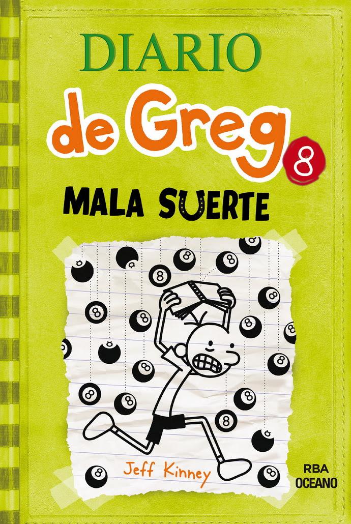 Diario de Greg 8. Mala suerte (Rústica)