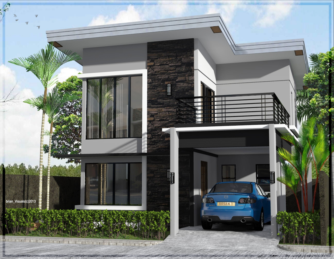 house at antique by