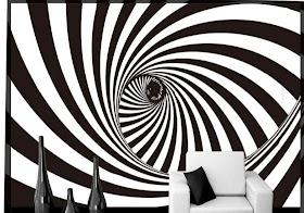 Wallpaper Kamar Tidur Hitam Putih