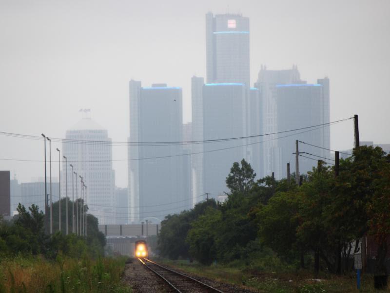 VIA train 78 and Detroit
