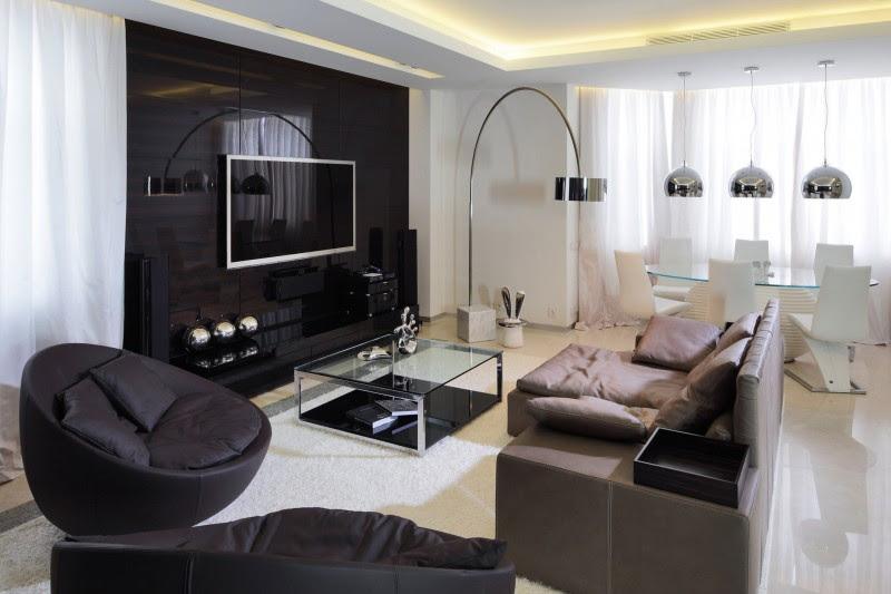 Shuvalovsky Apartment' is the Epitome of Urban Chic Interior Design