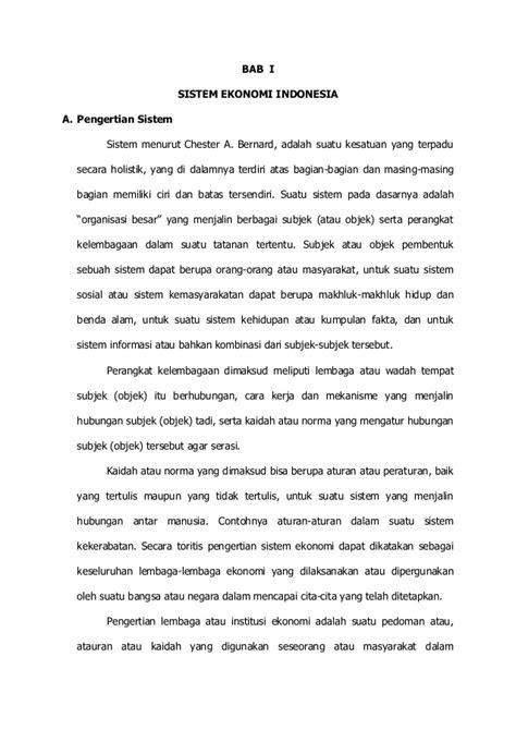 114359026 makalah-sistem-ekonomi-indonesia-perekonomian