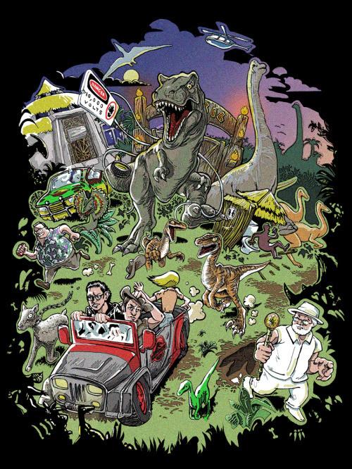 Jurassic Park Tribute by manidiforbice