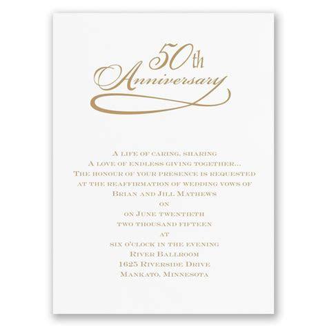 Personalized anniversary invitations : personalized 50th