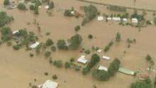 Floodwaters threaten Brisbane