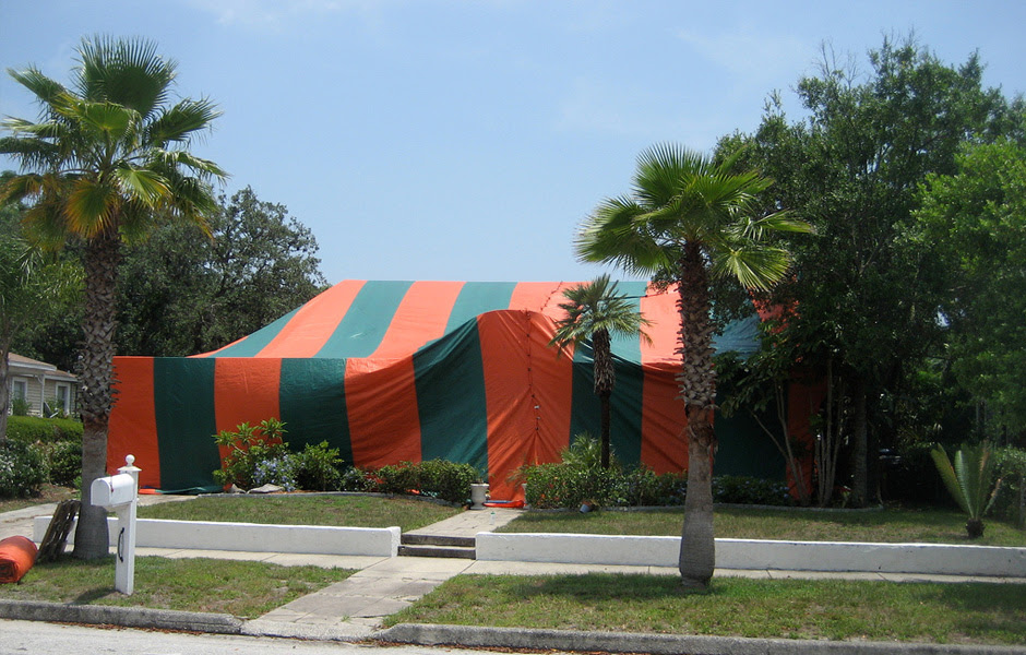 Tent Fumigation - Brooker Pest Control