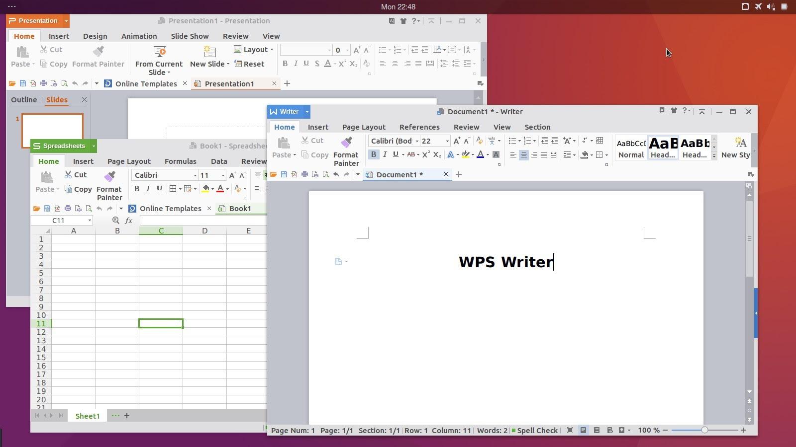 Hasil gambar untuk wps office linux
