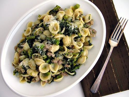 broccoli rabe pasta