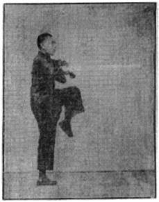 《昆吾劍譜》 李凌霄 (1935) - posture 46