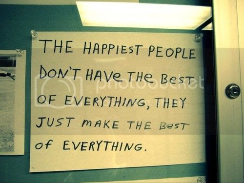 happy people quote