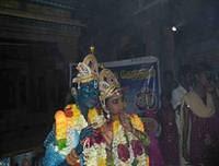 Students as Radha and Krishna in Valliyoor Samayamanaduu