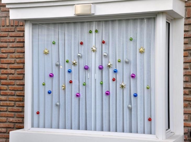 Идея как украсить окна на Новый год (Diy)
